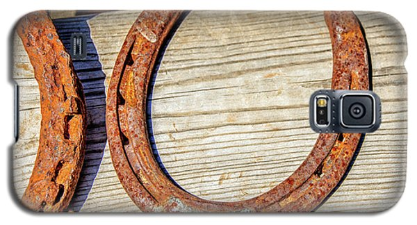 Rusty Horseshoes Found By Curators Of The Ghost Town Of St. Elmo Galaxy S5 Case
