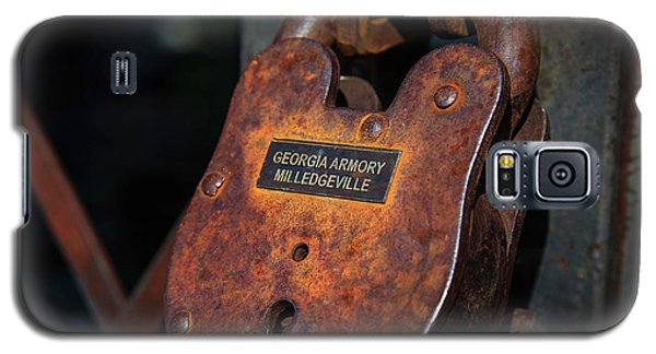 Rusty Lock Galaxy S5 Case