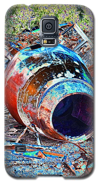 Rusty Metal Stuff II Galaxy S5 Case