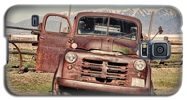 Galaxy S5 Case featuring the photograph Rusty Old Dodge by Ely Arsha