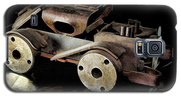 Rusty Rat Rod Toy Galaxy S5 Case by Wilma Birdwell
