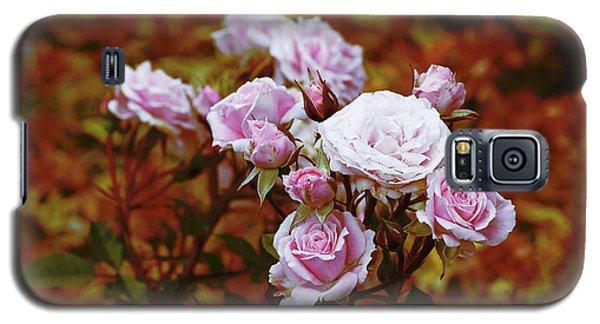 Rusty Romance In Pink Galaxy S5 Case