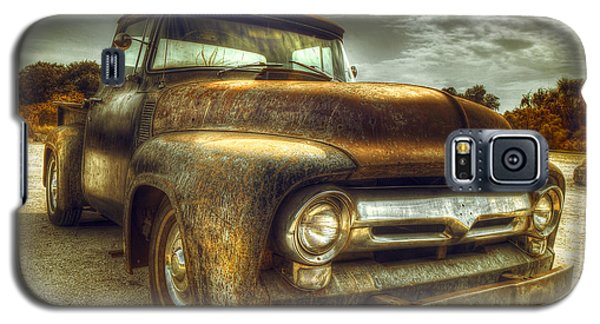 Truck Galaxy S5 Case - Rusty Truck by Mal Bray