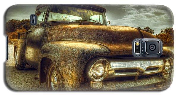 Truck Galaxy S5 Case - Rusty Truck by Mal Bray