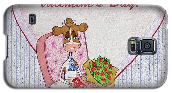 Ruthie-moo Flowers Happy Valentine's Day Galaxy S5 Case