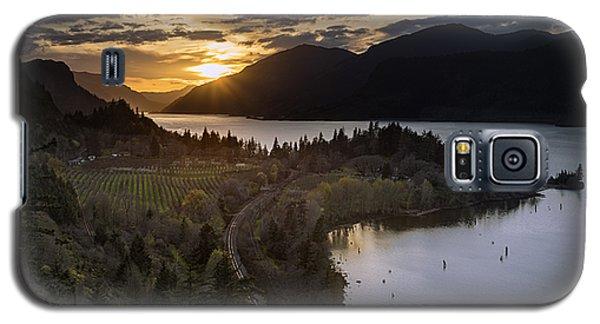 Ruthton Springtime Sunset Galaxy S5 Case