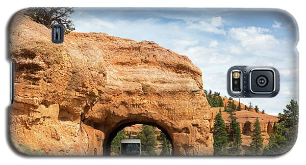 Rv Red Canyon Tunnel Utah Galaxy S5 Case