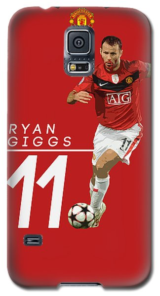 Ryan Giggs Galaxy S5 Case by Semih Yurdabak