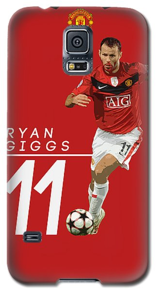 Ryan Giggs Galaxy S5 Case by Semih Yurdabak