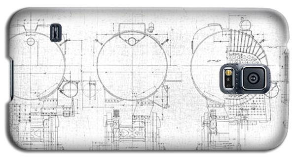 S-1a Cross Sections Galaxy S5 Case