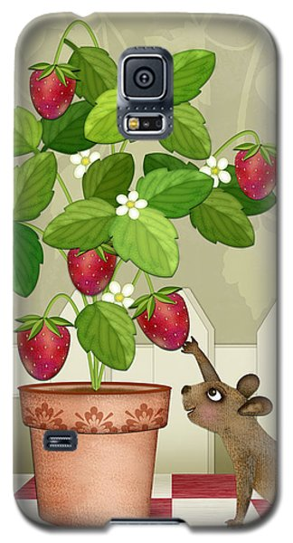 S Is For Squirrel Galaxy S5 Case