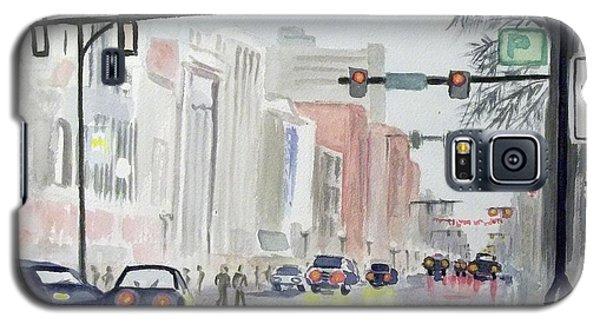 S. Main Street In Ann Arbor Michigan Galaxy S5 Case by Yoshiko Mishina