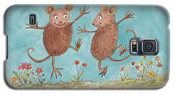 S1  Dancing Mice Galaxy S5 Case by Charles Cater