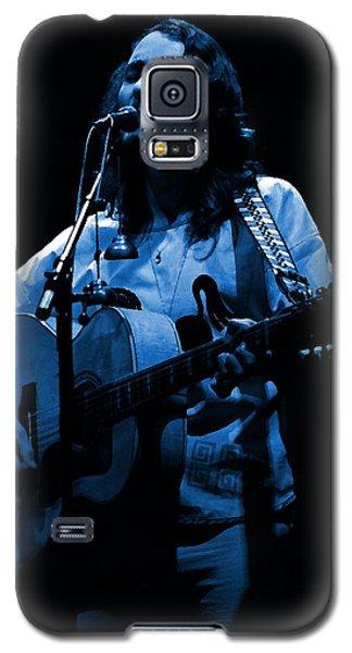 S#14 Enhanced In Blue Galaxy S5 Case