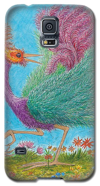 s9  Fine Feathers Galaxy S5 Case by Charles Cater