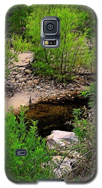 Galaxy S5 Case featuring the photograph Sabino Canyon Op44 by Mark Myhaver