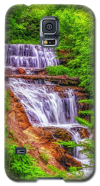 Galaxy S5 Case featuring the photograph Sable Falls by Nick Zelinsky