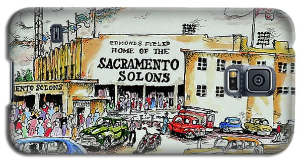 Galaxy S5 Case featuring the painting Sacramento Solons by Terry Banderas