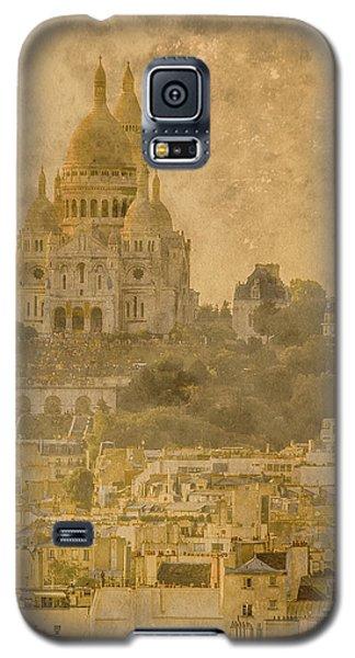 Paris, France - Sacre-coeur Oldplate Galaxy S5 Case