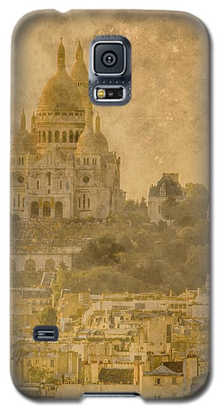 Paris, France - Sacre-coeur Oldplate Galaxy S5 Case
