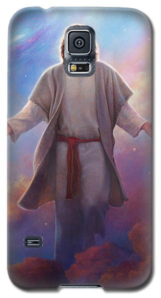 Galaxy S5 Case featuring the painting Sacred Space by Greg Olsen