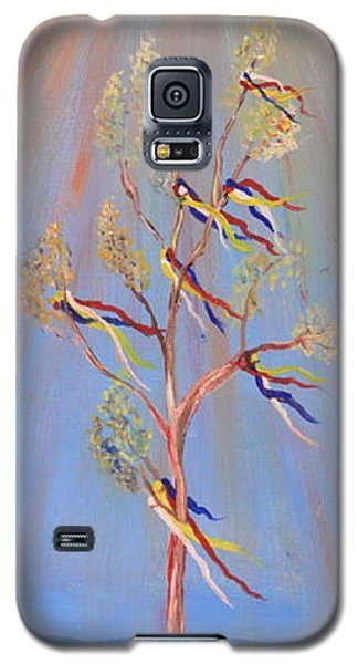 Sacred Sun Dance Tree Galaxy S5 Case