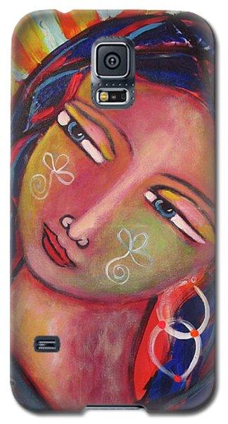 Sacred Traveler, Sacred Healer  Galaxy S5 Case