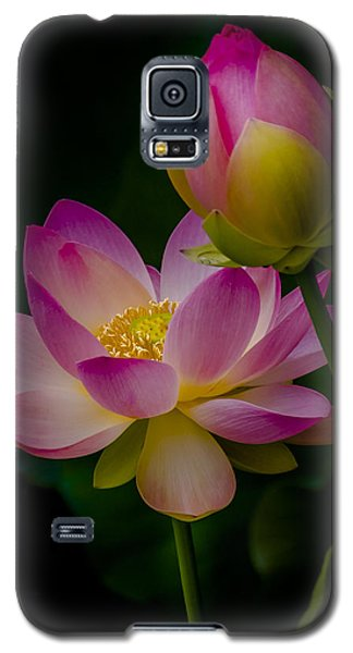 Sacred Water Lily 4 Galaxy S5 Case