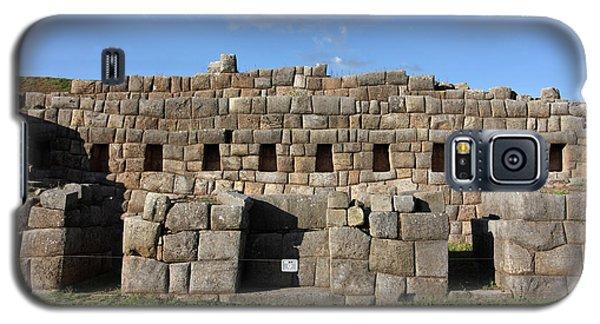 Galaxy S5 Case featuring the photograph Sacsaywaman Cusco, Peru by Aidan Moran