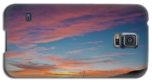 Saddle Road Sunset Galaxy S5 Case