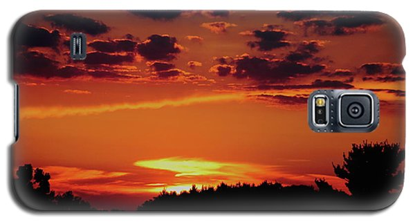 Galaxy S5 Case featuring the photograph Sadie's Sunset by Bruce Patrick Smith
