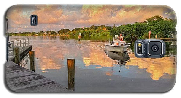 Safety Harbor Fisherman  Galaxy S5 Case