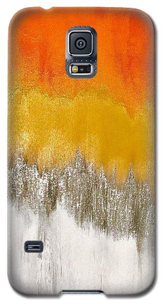 Saffron Sunrise Galaxy S5 Case