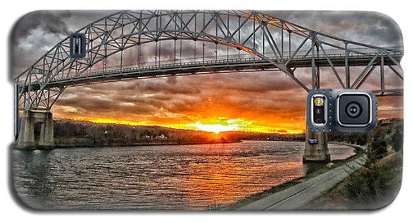 Sagamore Bridge Sunset Galaxy S5 Case by Constantine Gregory