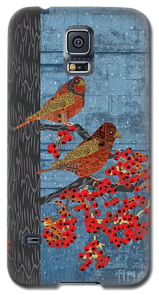 Galaxy S5 Case featuring the digital art Sagebrush Sparrow Long by Kim Prowse