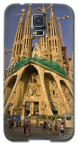 Sagrada Famila In The Fading Sun. Galaxy S5 Case