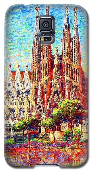 Sagrada Familia Galaxy S5 Case by Jane Small