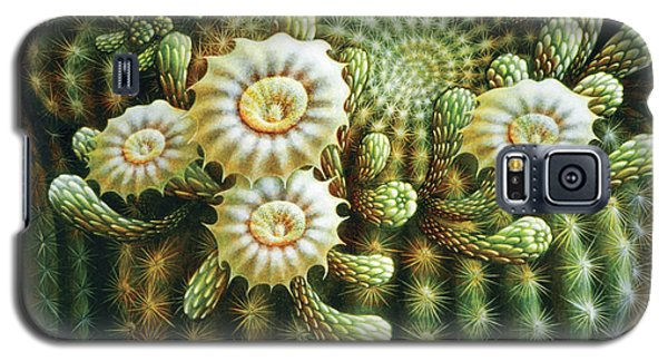 Saguaro Cactus Blossoms Galaxy S5 Case
