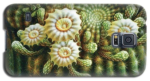 Saguaro Cactus Blossoms Galaxy S5 Case