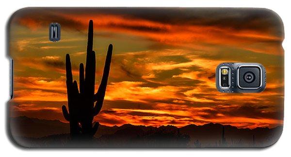 Saguaro Sunset H51 Galaxy S5 Case