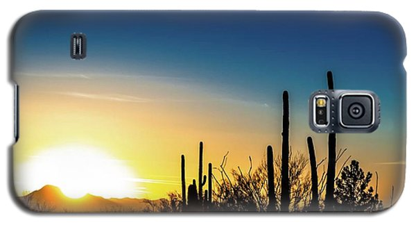 Saguaro Sunset Galaxy S5 Case