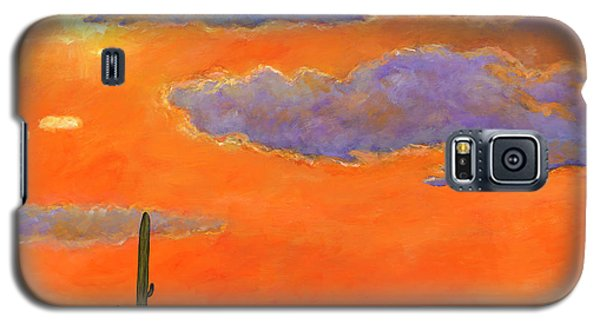 Desert Galaxy S5 Case - Saguaro Sunset by Johnathan Harris