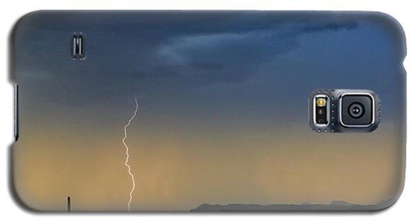Saguaro With Lightning Galaxy S5 Case