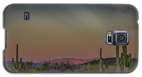 Saguaros Salute Rays Rising Galaxy S5 Case