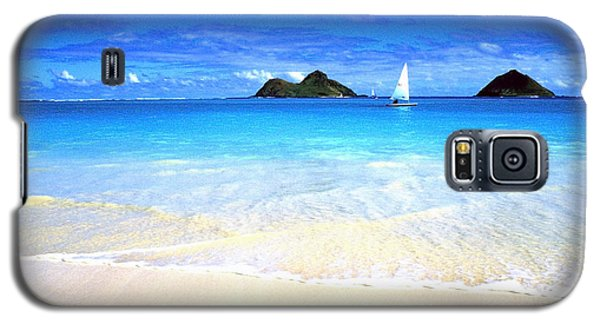 Sailboat And Islands Galaxy S5 Case