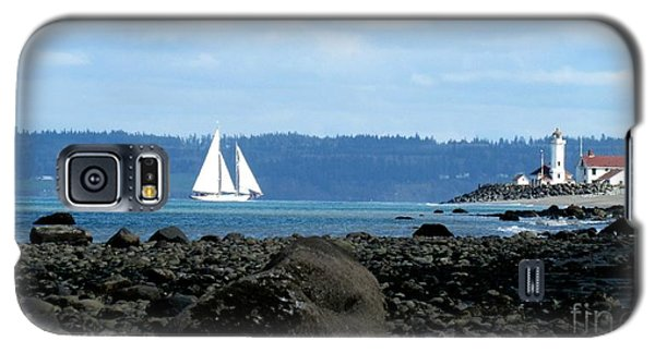 Sailboat And Lighthouse Galaxy S5 Case