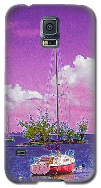 Sailboat At Reeds Bay Hilo Aloha Galaxy S5 Case