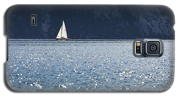 Galaxy S5 Case featuring the photograph Sailboat by Chevy Fleet