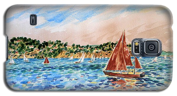 Sailboat On The Bay Galaxy S5 Case