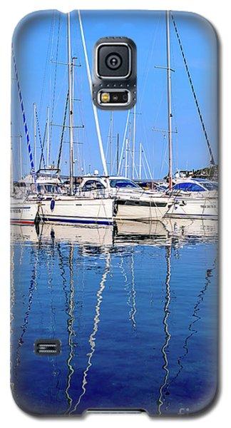 Sailboat Reflections - Rovinj, Croatia  Galaxy S5 Case